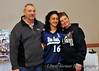 Ashley Neufeld's parents with Ashley's roommate and teammate Nathalie Martinez.  Nathalie received the emergency phone call from Ashley that night.