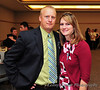 Former DSU Basketball and Softball Coach Guy Fridley and his wife Amber.  Guy originally recruited Kyrstin in the summer of 2007.