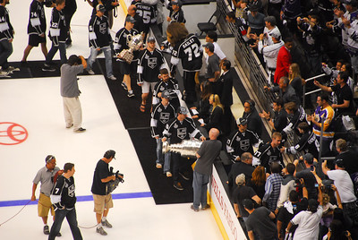 LA Kings Stanley Cup Parade & Rally 2012