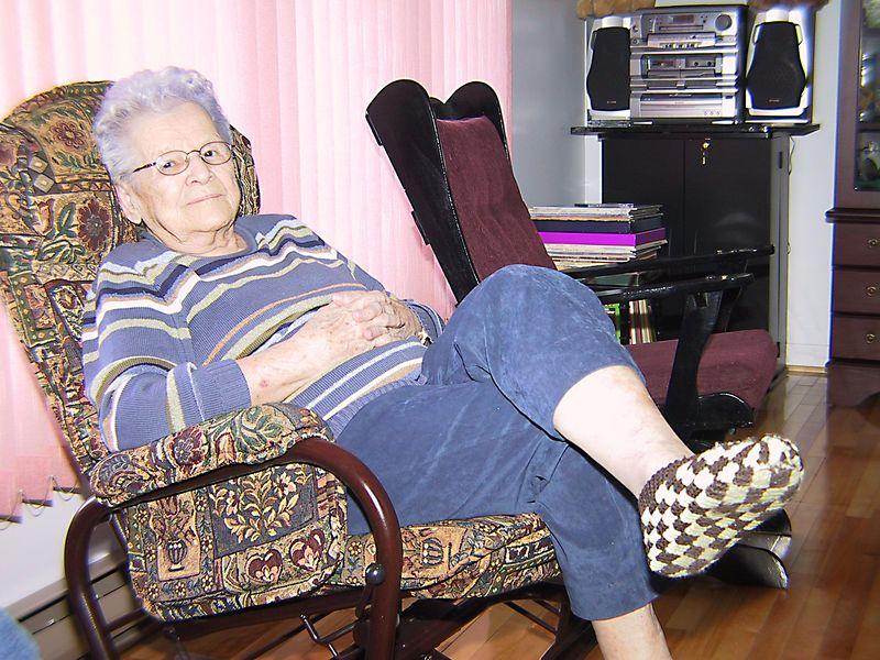 Maman Yvette 15 janvier 2005