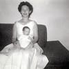 Helen with Rick, September 1960.