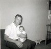 Leonard with Rick, 1960
