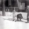 Sherri, in bonnet, age 2