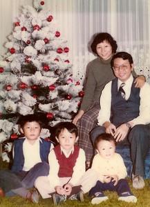 Christmas in Utah, circa 1981