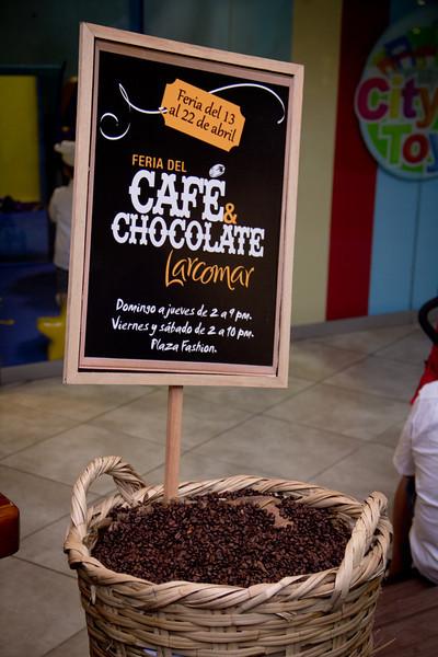 Feria del cafe y del chocolate