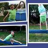 Hannah on the balance beam.