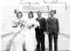 Angie Laggart Becker Herman Becker Wedding, October 30, 1945