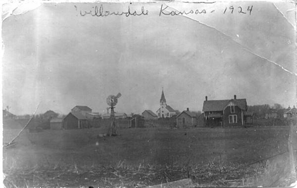 Willowdale, Kansas in 1924