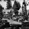 1932 photo of Lake Arrowhead Village. Photo published in the Aug. 14, 1932 Los Angeles Times.