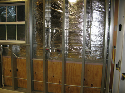 Interior before insulation