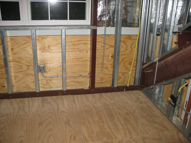 2nd floor kitchenette, west wall.