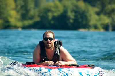 Boating on Lake Washington - September 2014