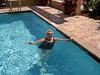 "Patsy at Hampton Inn in ""our"" Pool."