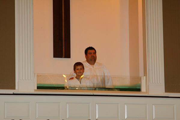 Landon's Baptism