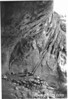 View of cliff dwelling entrance, Bandelier NM, 1940