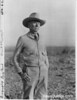 "Everett Townsend, the ""Father "" of Big Bend National Park. Photo taken on the mesa north of Johnson's Ranch, 1936"