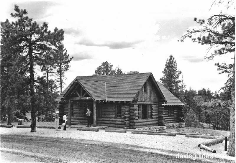Museum built by CCC at campground, Bryce Canyon National Park, 1935.