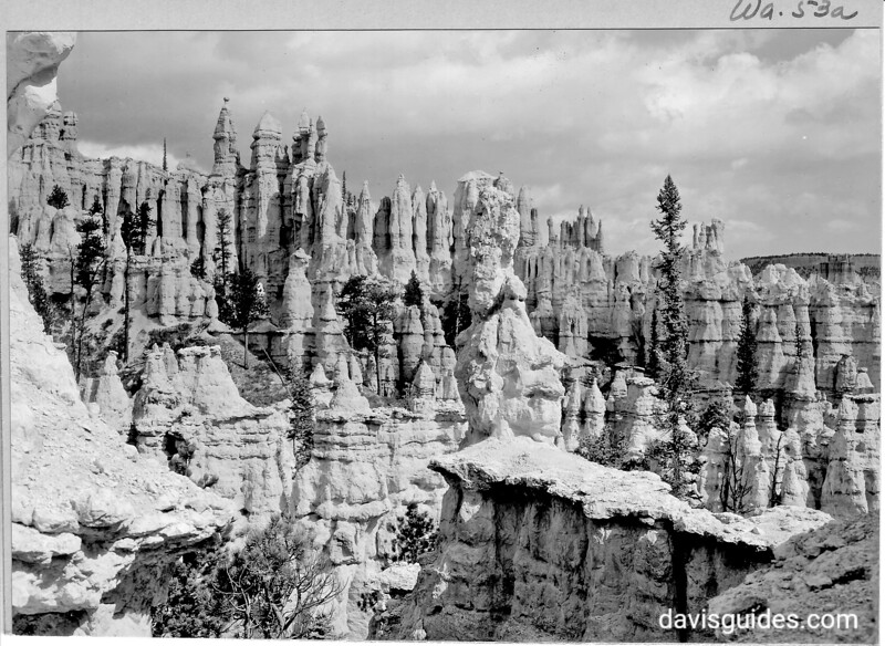 Hindu Temples from Peek-a-Boo Canyon, Bryce Canyon National Park, 1929