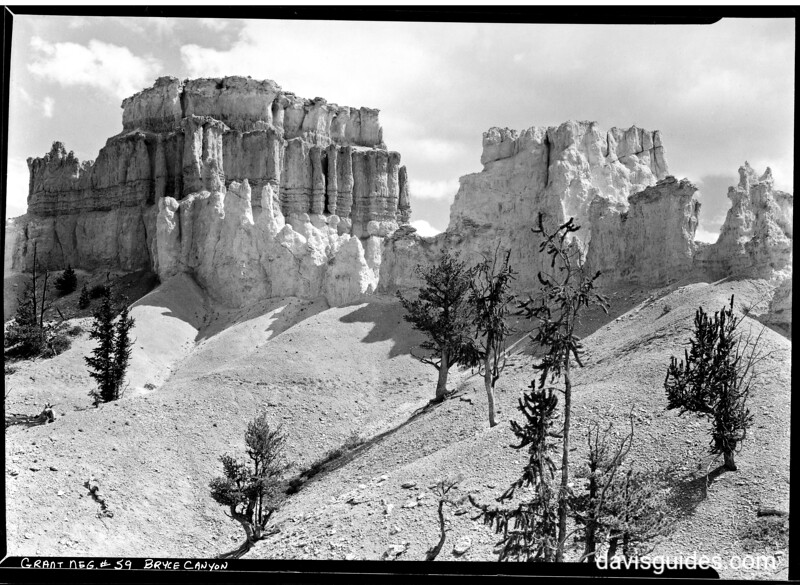 Bryce Temple, Bryce Canyon National Park, 1929