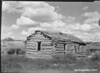 Log cabin of Mormon pioneer settler Ebenezer Bryce, Bryce Canyon National Park, 1929