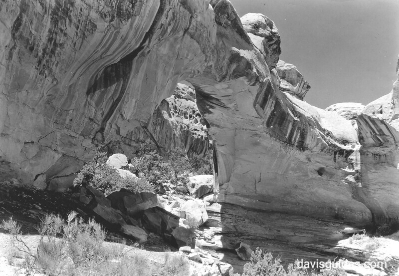 Hickman Natural Bridge, Capitol Reef National Park, 1935