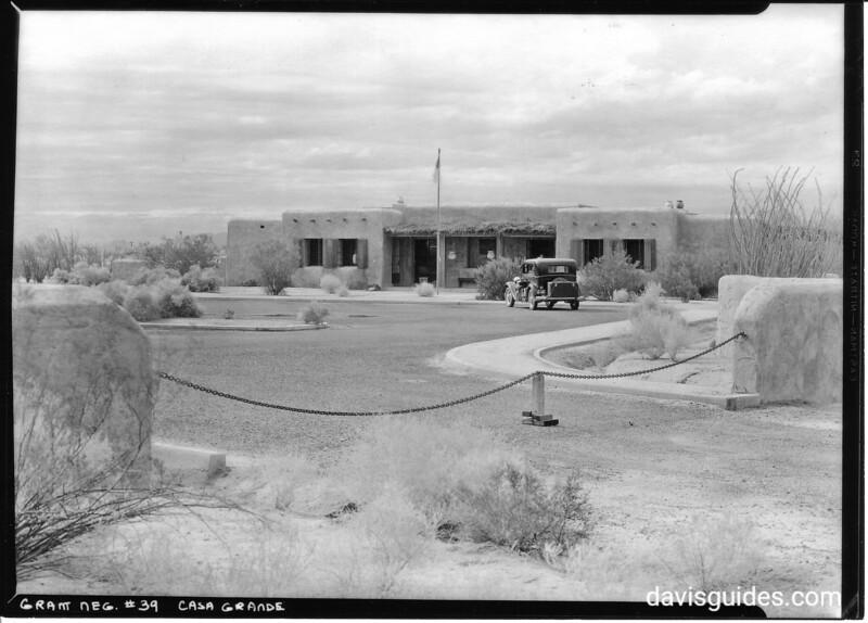 Headquarters building, Casa Grande National Monument, 1934.