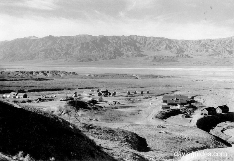 "CCC Camp ""Funeral Range"", Death Valley National Park, 1935."