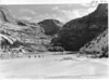 View up the Yampa River Canyon from the point about 1/2 mile above Pat's Hole. Dinosaur National Monument, 1935.
