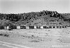 Building ruins at Fort Davis National Monument, 1953.