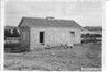 Old guard house built in 1866, Fort Laramie National Historic Site, 1949.