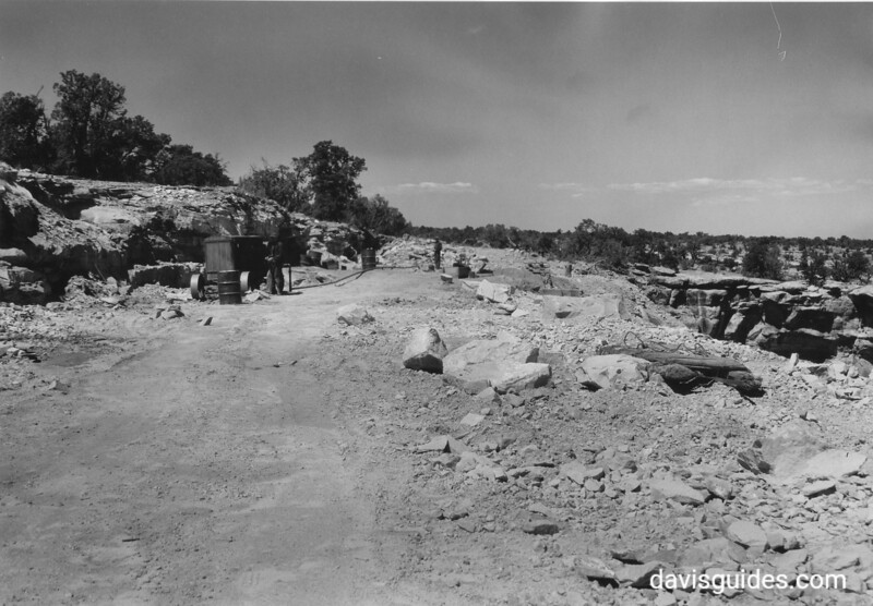 CCC enrollees building the Rim Road, Colorado National Monument, 1935.