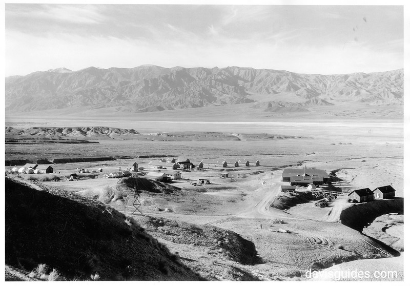 CCC Camp Funeral Range, Death Valley National Park, 1935.