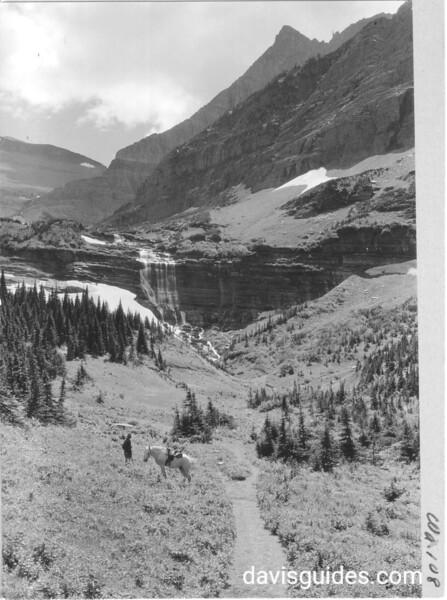 Morning Eagle Falls, Glacier National Park, 1932.
