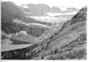 Grinnell Glacier and the lake from the trail, Glacier National Park, 1932
