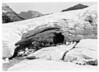 Ice Cave on the Boulder Glacier, Glacier National Park, 1932.