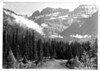 The Garden Wall and McDonald Creek, Glacier National Park, 1941.