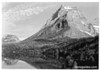 Going to the Sun Mountain from the chalets on Upper St. Marys Lake. Glacier National Park, 1933.