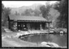 Bathhouse by the CCC-built swimming pool at Phantom Ranch. Grand Canyon National Park, 1936.