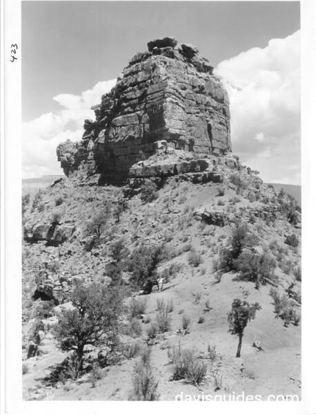 O'Neill Butte, Grand Canyon National Park, 1930.