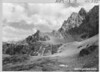 The Grand Teton from the head of Cascade Canyon. Grand Teton National Park, 1933.