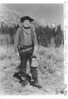 """""""Dad"""" Adam Keith, pioneer, outfitter and back-country ranger. Grand Teton National Park, 1930."""