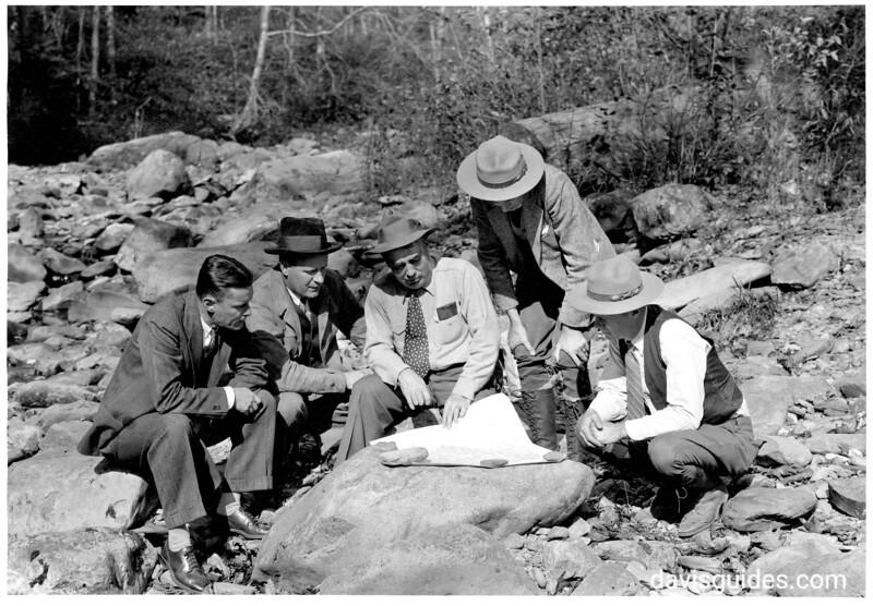 GRSM_1931 Preliminary Survey Team