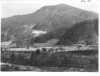 Catstairs Mountain as seen from the slopes above Porters Flats, Tennessee. Planned Great Smoky Mountains National Park, 1931.
