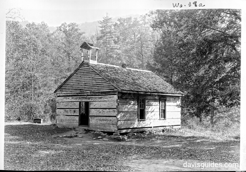 Little Greenbrier Schoolhouse, planned Great Smoky Mountains National Park, 1931.