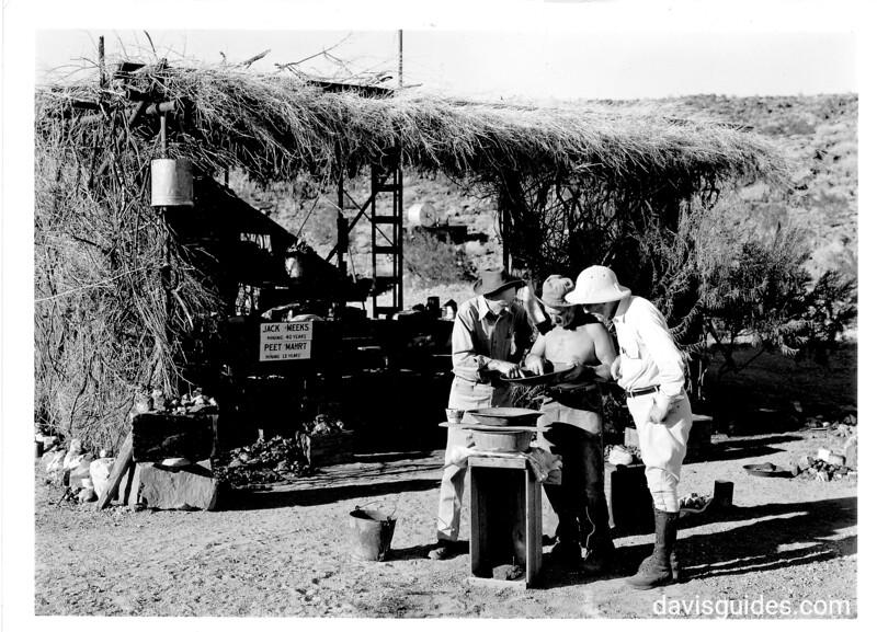 Jack Meeks and Peet Mahrt, two gold miners. Joshua Tree National Park, 1941.