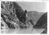 Inner gorge of Grand Canyon with a strong current to Lake Mead. Lake Mead National Recreation Area, 1937.