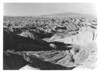 Badland formations between Valley of Fire and Overton, Nevada. Lake Mead National Recreation Area, 1937.