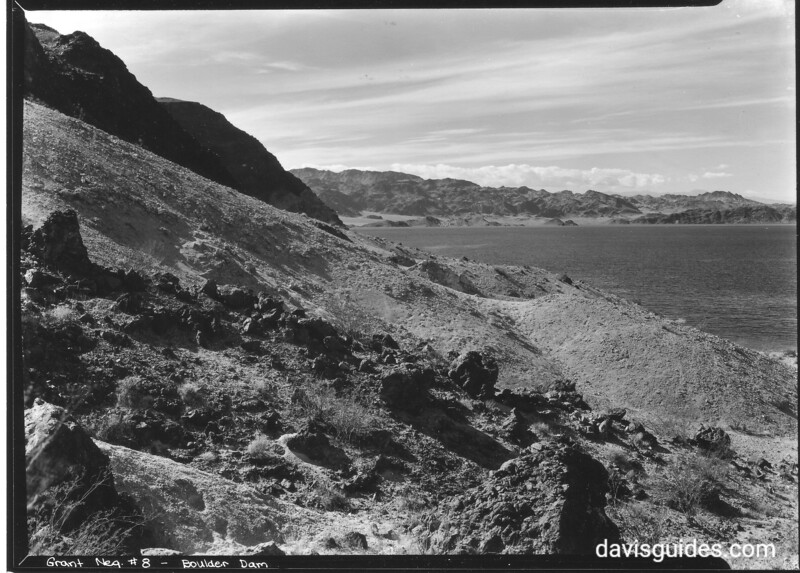 View of Lake Mead and shoreline. Lake Mead National Recreation Area, undated.