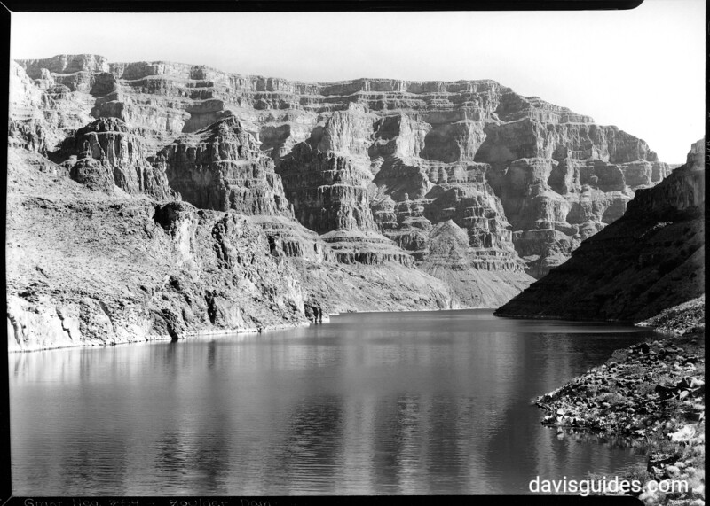 Geological cross section of the Grand Canyon, Lake Mead National Recreation Area, 1937.