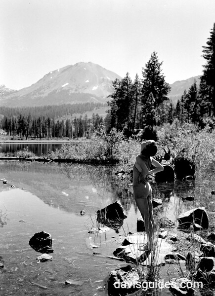 """September Morn, American style"". Lassen Volcanic National Park, 1934."